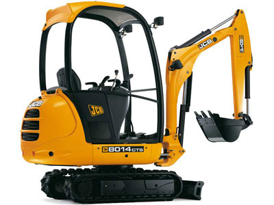 JCB 8014 available from Ledbury Plant hire